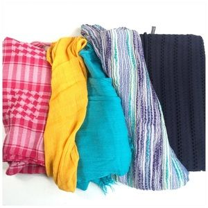 Mystery Box of 5 Scarves